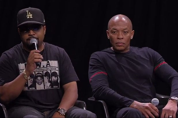 Dr Dre And Ice Cube Want Out Of Straight Outta Compton Wrongful