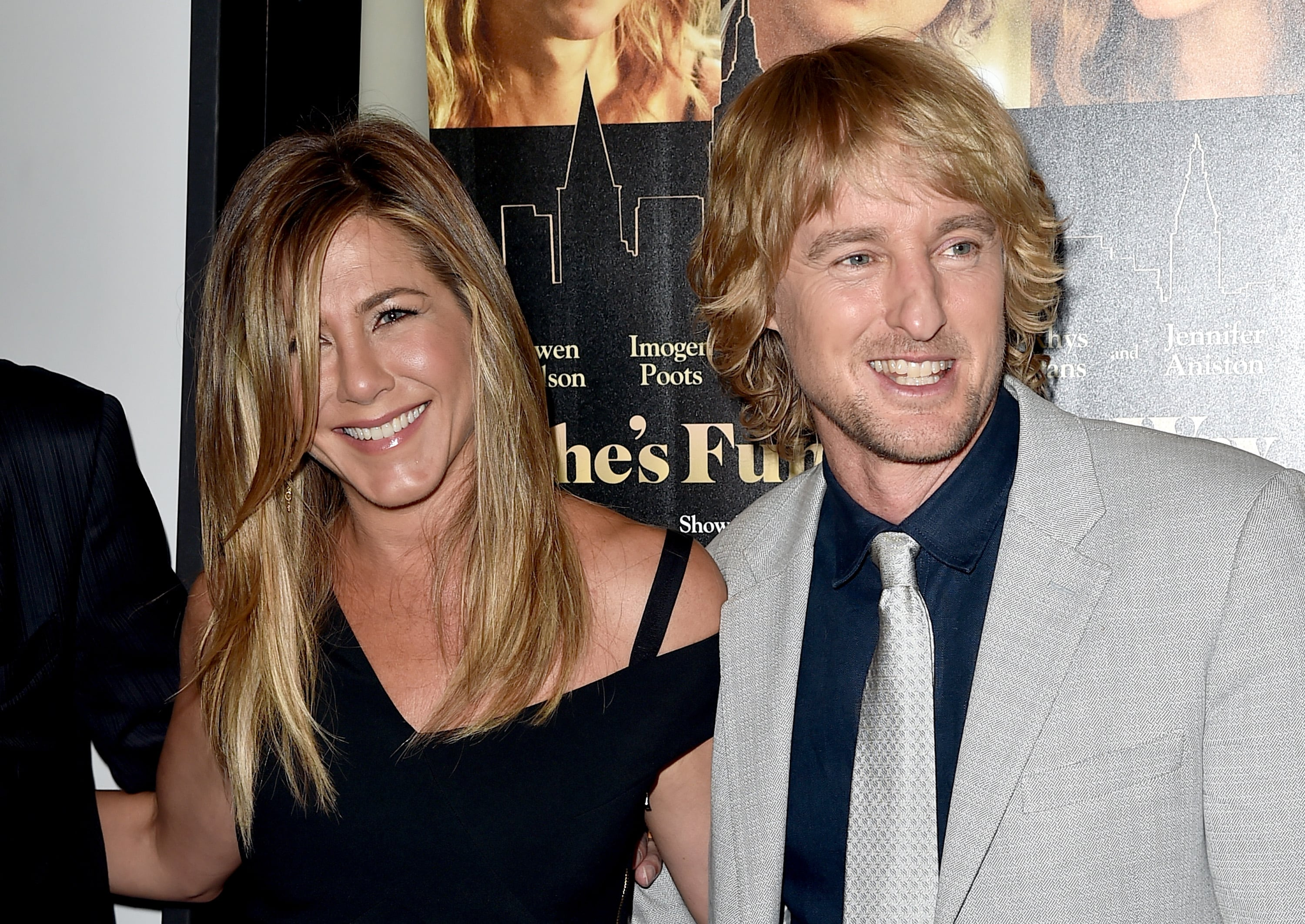 Jennifer Aniston Reunites With Owen Wilson At She S Funny