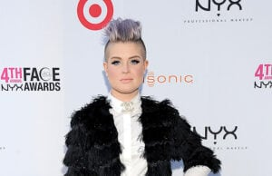 LOS ANGELES, CA - AUGUST 22: Host Kelly Osbourne attends the 4th Annual NYX FACE Awards at Club Nokia on August 22, 2015 in Los Angeles, California. (Photo by Angela Weiss/Getty Images for NYX Cosmetics)
