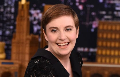 "Lena Dunham Visits ""The Tonight Show Starring Jimmy Fallon"""