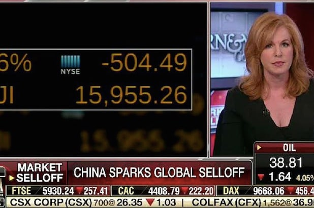 fox business liz claman talks blackmonday cord cutting big media
