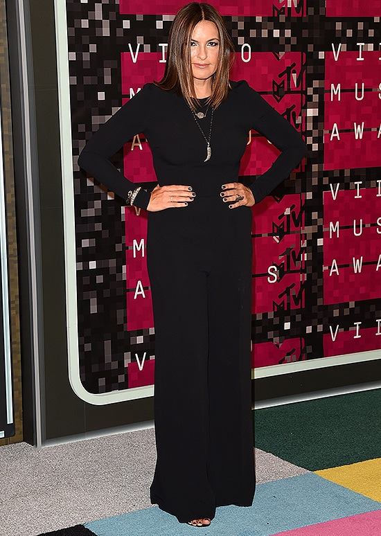 LOS ANGELES, CA - AUGUST 30: Actress Mariska Hargitay attends the 2015 MTV Video Music Awards at Microsoft Theater on August 30, 2015 in Los Angeles, California. (Photo by Jason Merritt/Getty Images)