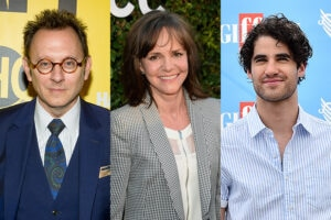 Michael Emerson Sally Field Darren Criss