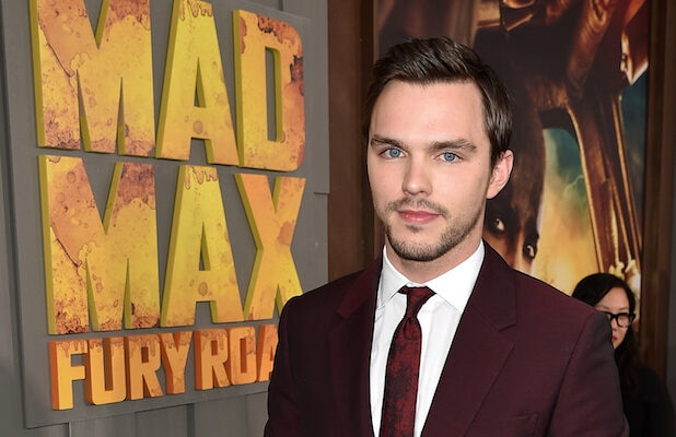 "HOLLYWOOD, CA - MAY 07: Actor Nicholas Hoult attends the premiere of Warner Bros. Pictures' ""Mad Max: Fury Road"" at TCL Chinese Theatre on May 7, 2015 in Hollywood, California. (Photo by Kevin Winter/Getty Images)"