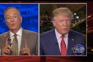 Bill O'Reilly, Donald Trump