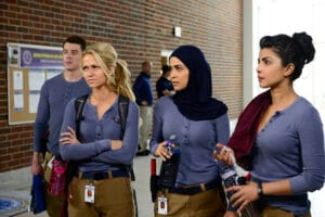 QUANTICO - A diverse group of recruits has arrived at the FBI Quantico Base for training. They are the best, the brightest and the most vetted, so it seems impossible that one of them is suspected of masterminding the biggest attack on New York City since 9/11. (ABC/Guy D'Alema) BRIAN J. SMITH, JOHANNA BRADDY, YASMINE AL MASSRI, PRIYANKA CHOPRA