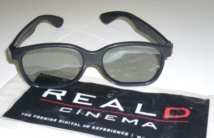 REALD 3D GLASSES