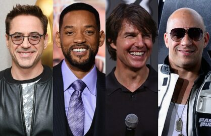 Getty Images highest paid actor