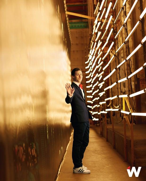 Andy Samberg by Patrick Fraser