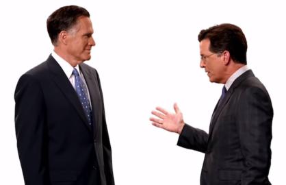 Stephen Colbert Mitt Romney