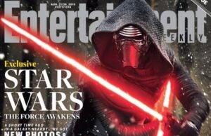 Star Wars Kylo Ren EW cover