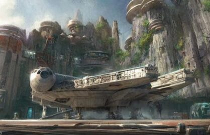 Star Wars Theme Park Concept Art