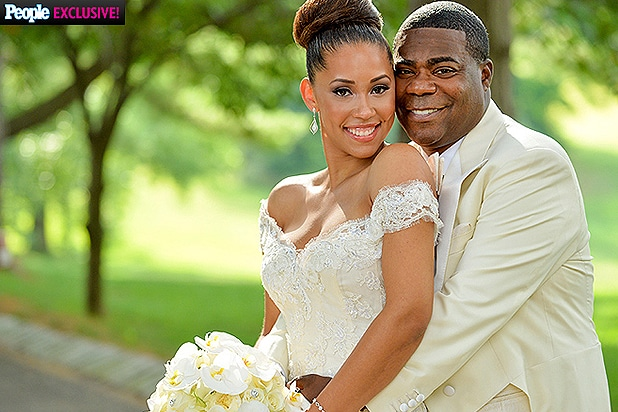 tracy morgan looks happy and healthy in stunning wedding photo
