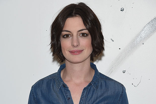 anne hathaway to produce star in scifi comedy the shower