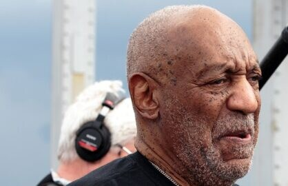 SELMA, AL - MAY 15: Bill Cosby participates in the Black Belt Community Foundation's March for Education across the Edmund Pettus Bridge on May 15, 2015 in Selma, Alabama. (Photo by David A. Smith/Getty Images)