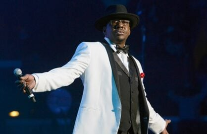 LOS ANGELES, CA - JUNE 30: Bobby Brown performs onstage with New Edition during R. Kelly, New Edition and The Jacksons at the 2013 BET Experience at Staples Center on June 30, 2013 in Los Angeles, California. (Photo by Earl Gibson III/Getty Images for BET)