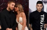 Calvin Harris and Taylor Swift; Zayn Malik