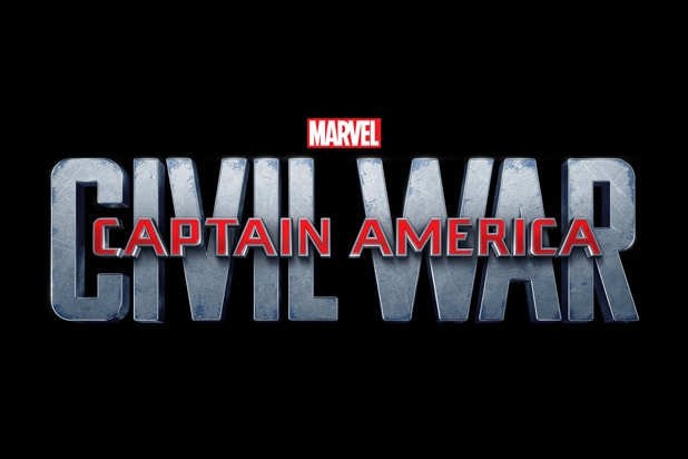 Captain America Civil War logo (Marvel/Disney)