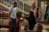 """THE CARMICHAEL SHOW -- """"Protest"""" Episode 104 -- Pictured: (l-r) Jerrod Carmichael as Jerrod, Loretta Devine as Cynthia Carmichael, David Alan Grier as Joe Carmichael -- (Photo by: Ben Cohen/NBC)"""