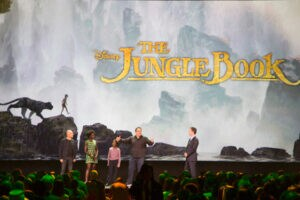 The Jungle Book cast and director