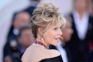Jane Fonda at the Cannes Film Festival