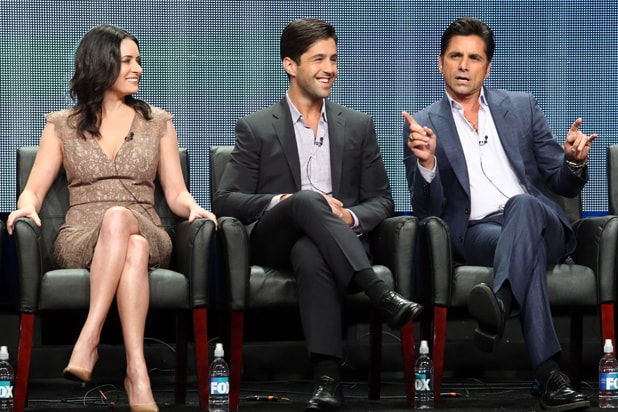 Paget Brewster, Josh Peck and John Stamos, TCA 2015 (Frederick M. Brown/Getty Image)