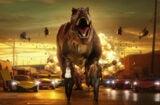 """Dave Franco, Christopher Mintz-Plasse, dinosaur in """"Madden NFL 16"""" short film (EA)"""