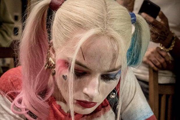 Margot Robbie as Harley Quinn (Twitter)