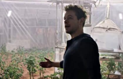 Matt Damon The Martian