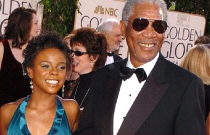 morgan freeman e'dena getty