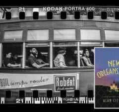 "Alan Citron novel ""New Orleansland""; streetcar (Mario Tama/Getty Images)"