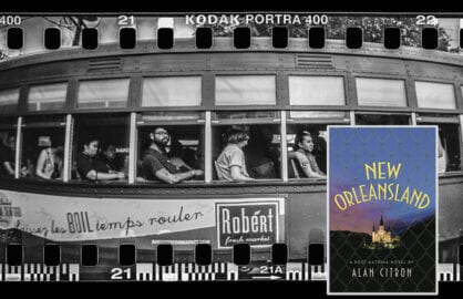 "Alan Citron novel ""New Orleansland""; streetcar (Mario Tama/Getty Images)"