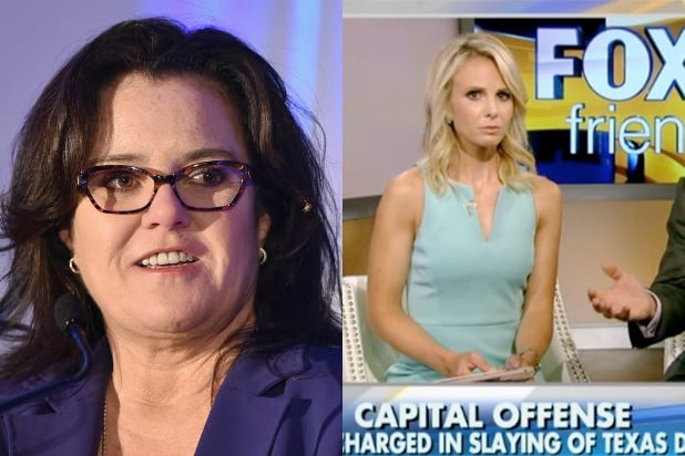 Rosie O'Donnell Fires Back at Elizabeth Hasselbeck Over ...