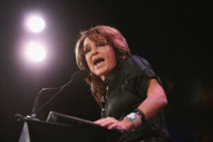 Sarah Palin julian assange wikileaks flip