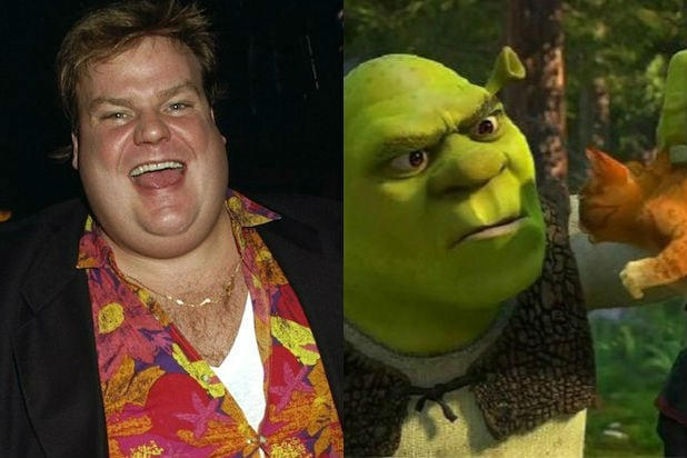 Chris Farley As Shrek Watch Footage Of Comedy Icon Voicing The
