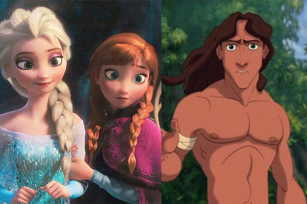 Resultado de imagen para Elsa, Anna, and Tarzan are siblings.
