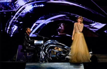 taylor swift, john legend