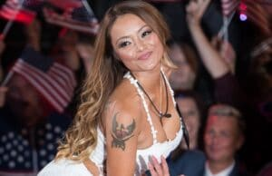BOREHAMWOOD, ENGLAND - AUGUST 27: Tila Tequila enters the Celebrity Big Brother house at Elstree Studios on August 27, 2015 in Borehamwood, England. (Photo by Ian Gavan/Getty Images)