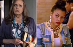 Jeffrey Tambor in Transparent and Taraji P. Henson in Empire