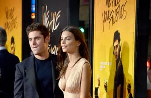 Zac Efron and Emily Ratajkowski (Alberto E. Rodriguez/Getty Images)