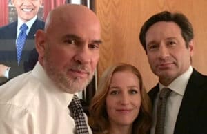 X-Files: Barack Obama, Mitch Pileggi, Gillian Anderson, David Duchovny