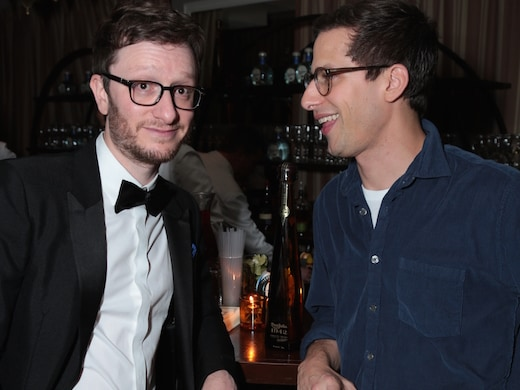 Host Andy Samberg played host a second time on Sunday night. He threw a hush-hush party at the SNL-star-favorite Sunset Tower with pal Akiva Scaheffer and pours by Tequila Don Julio. (Alex Berliner/ABImages)
