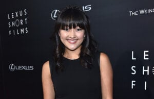 LOS ANGELES, CA - JULY 30: Actress Amy Okuda arrives to The Weinstein Company and Lexus Present Lexus Short Films at The Regal Cinemas L.A. Live on July 30, 2014 in Los Angeles, California. (Photo by Alberto E. Rodriguez/Getty Images)