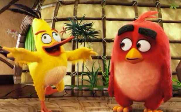 angry birds movie trailer finds bearded pigs invading feathered paradise video