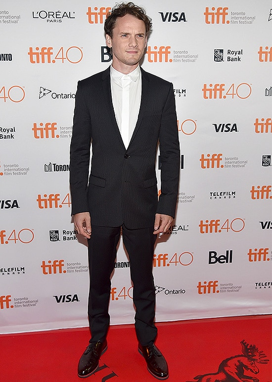 TORONTO, ON - SEPTEMBER 10: Actor Anton Yelchin attends the 'Green Room' and 'The Chickening' premieres during the 2015 Toronto International Film Festival at Ryerson Theatre on September 10, 2015 in Toronto, Canada. (Photo by Alberto E. Rodriguez/Getty Images)