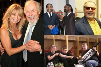 COVER - Party Report Goldie Hawn Jack Nicholson David Oyelowo James Corden AMEX Disclsoure