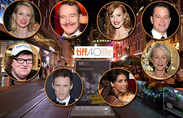 The 2015 Toronto Film Festival festivities include parties with the HFPA, InStyle, Bungalow 8, Soho House, and more. (Getty Images; Television Academy)