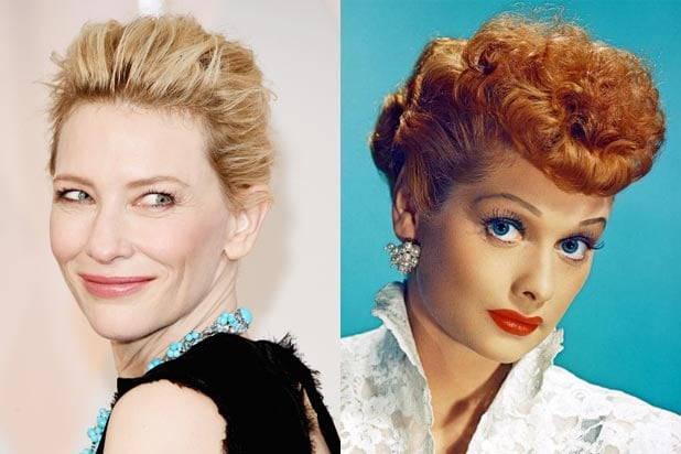 Cate Blanchett to pay comedian Lucille Ball in new Amazon film
