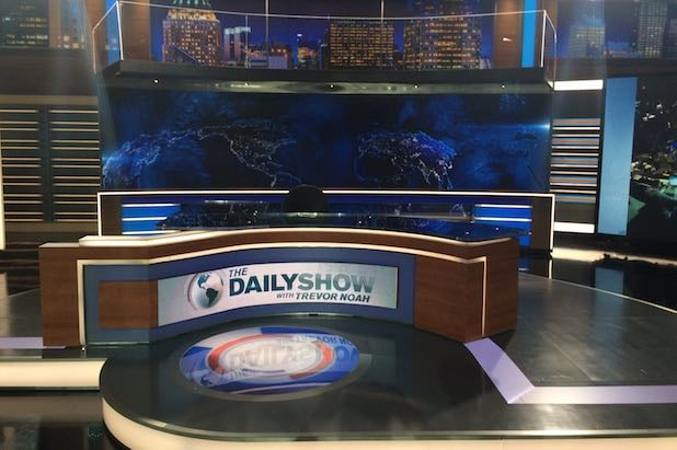 Daily Show new set