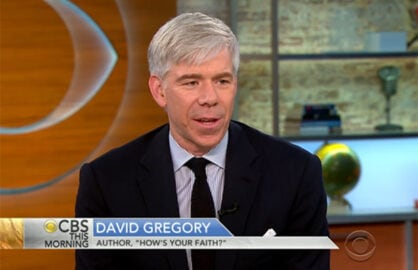 David Gregory CBS This Morning